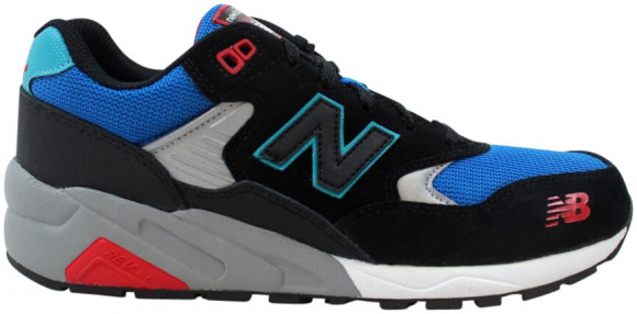 New Balance 580 Black/Blue Marathon Running Shoes/Sneakers MRT580BF - MRT580BF