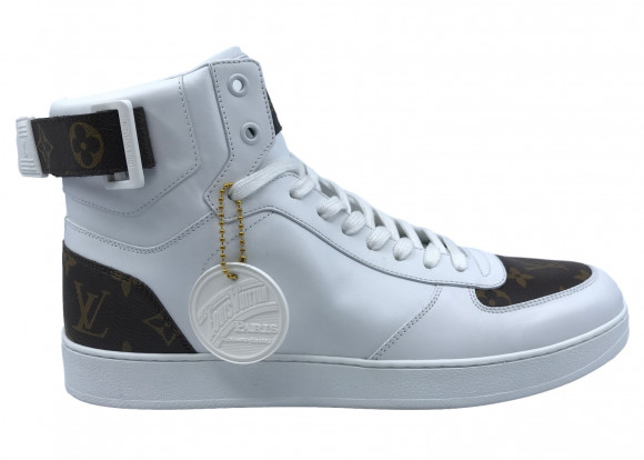 Louis Vuitton Rivoli Sneaker Boot Monogram White - MS0197