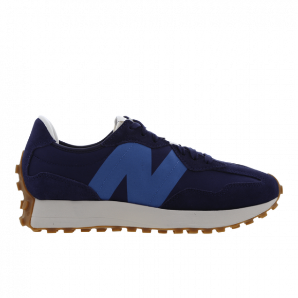 New Balance Navy & Blue 327 V1 Low Sneakers - MS327HL1