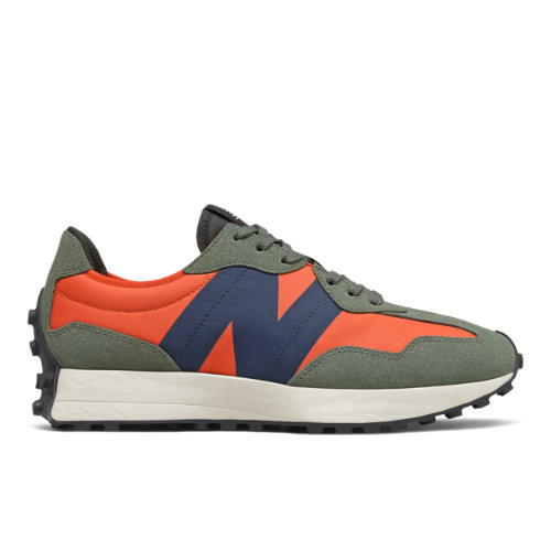 New Balance 327 - Men's Running Shoes - Dark Blaze / Natural ...