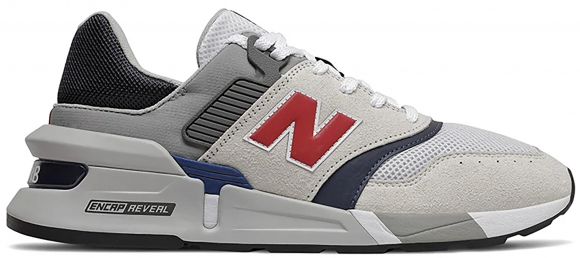New Balance 997S Grey Navy Red - MS997LOS