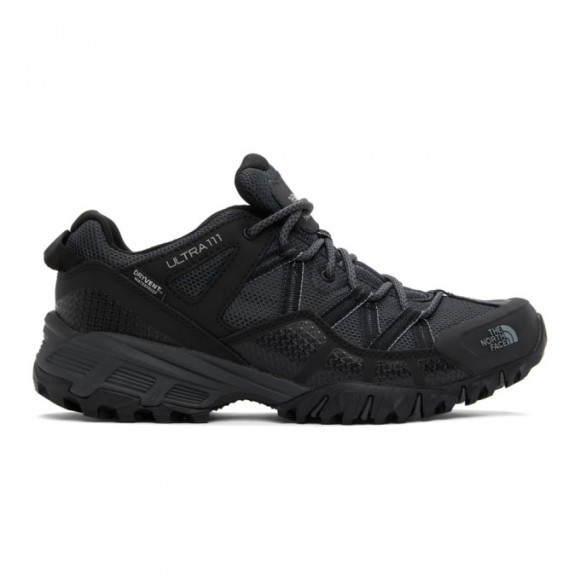 The North Face Black Ultra 111 WP Sneakers - NF0A46CJ