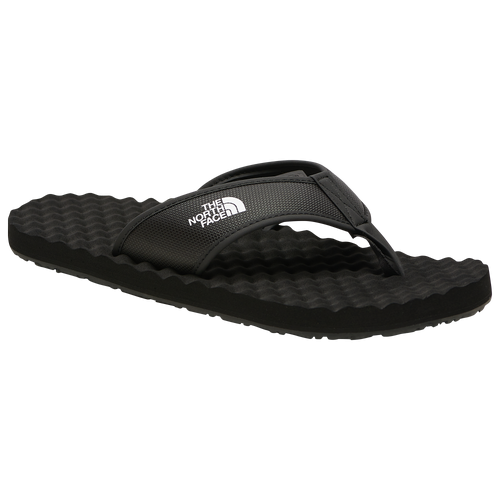 The North Face Base Camp Flip Flop II - Men's Outdoor Sandals - Black / White - NF0A47AA-KY4