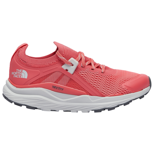 The North Face Vectiv Hypnum - Women's Running Shoes - Fiesta Red / Tin Grey - NF0A4PFL-OVT