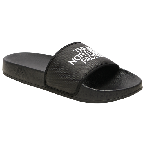 The North Face Base Camp Slide III - Men's Shoes - Black / White - NF0A4T2R-KY4