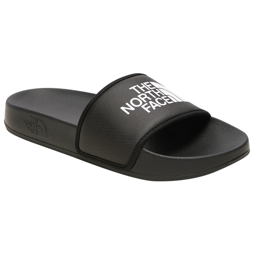 The North Face Base Camp Slide III - Women's Shoes - Black / White - NF0A4T2S-KY4