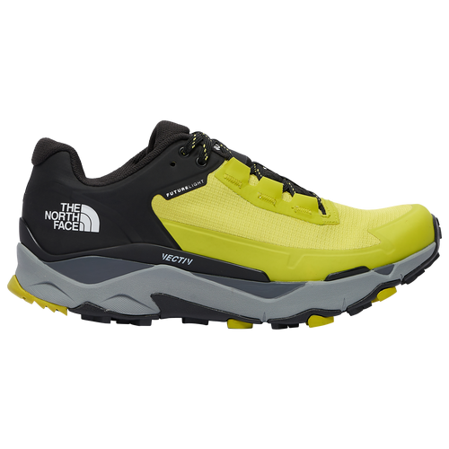 The North Face Vectiv Exploris Futurelight - Men's Outdoor Boots - Sulphur / Spring Green / Black - NF0A4T2WC6T