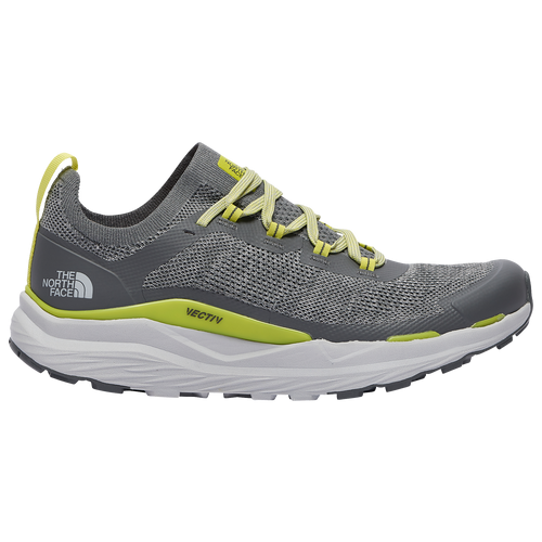 The North Face Vectiv Escape - Men's Trail Shoes - Zinc Grey / Sulfur Spring Green - NF0A4T2Y-VPX