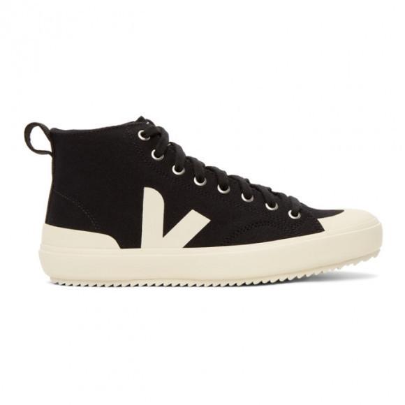 Veja Black High-Top Nova Sneakers - NT011397B