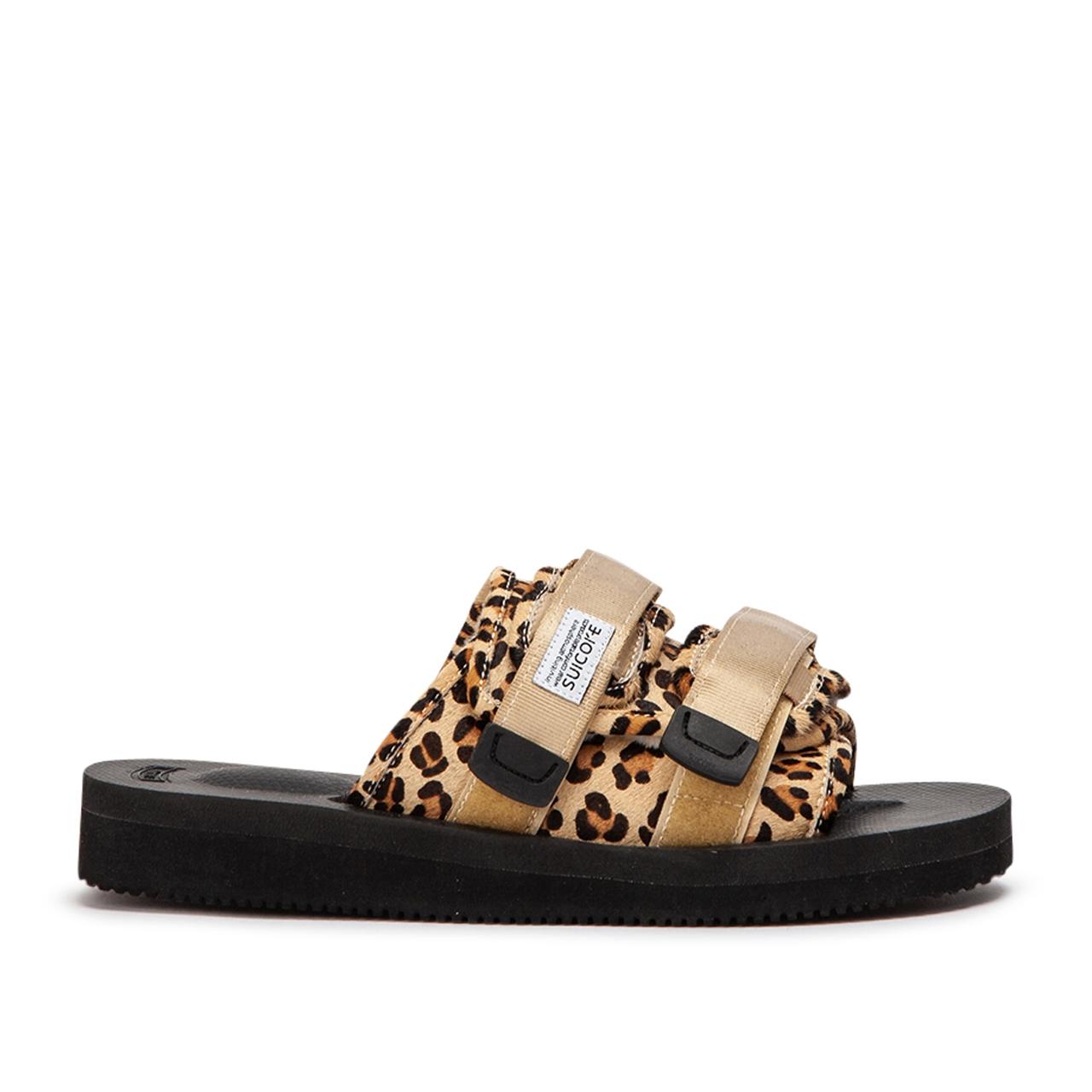 Suicoke Sandals Moto-VHL (Leopard) - OG-056VHL-MOTO-VHL-007