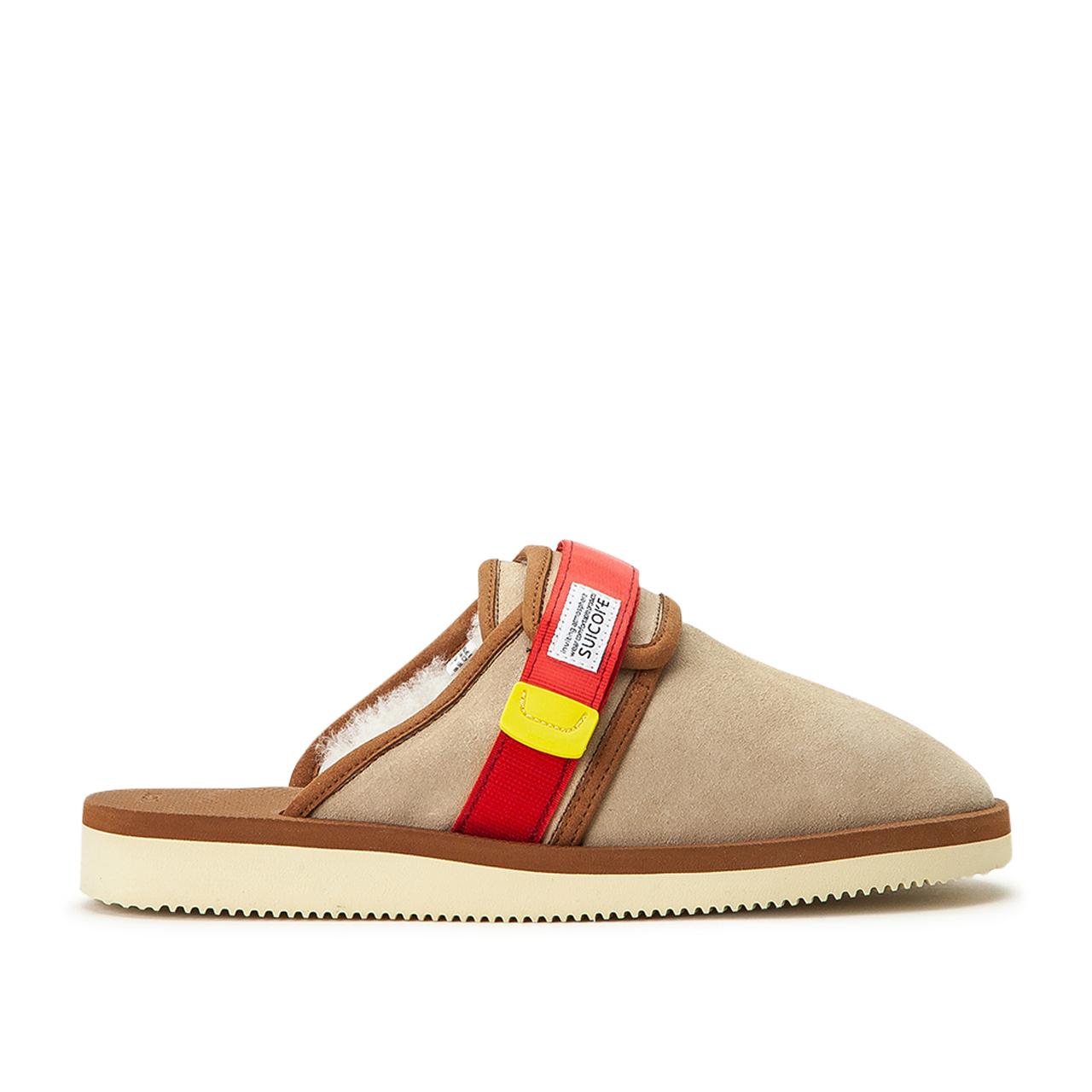 Suicoke Sandals Zavo-Mab (Beige) - OG-072MAB-100