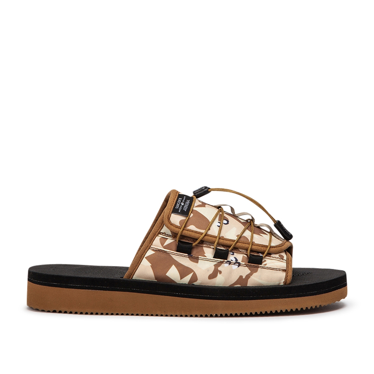 Suicoke Sandals x CLOT Juice OLAS CL-Tab (Beige) - OG-154CLTAB-OLAS-002