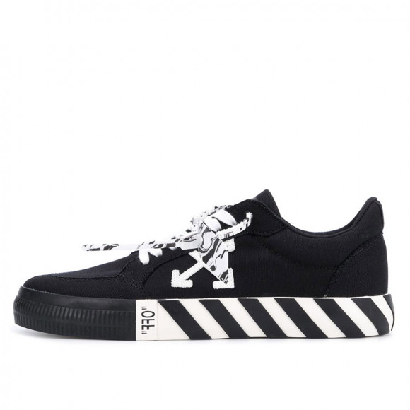 Off-White Vulc Low Top Sneaker Black White (2020) - OMIA085R21FAB0031001