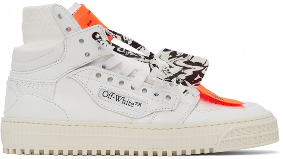 Off-White White 3.0 Off Court Leather Sneakers - OWIA112F21LEA0010101