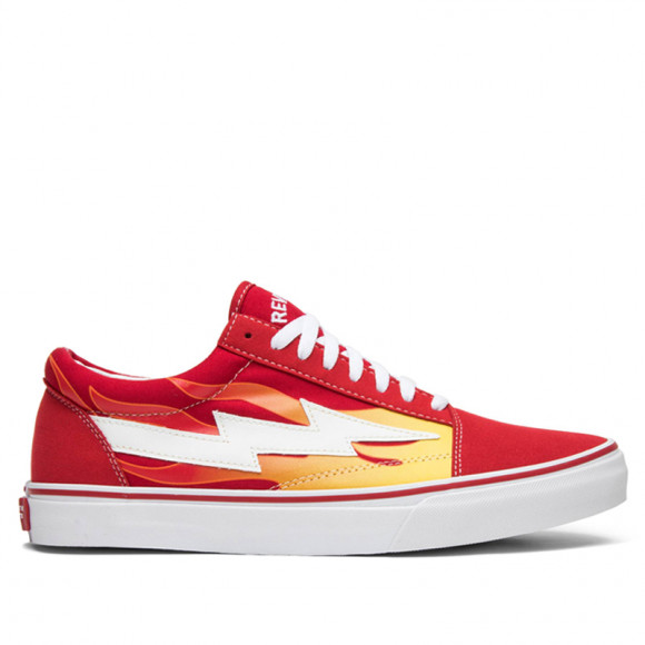 Revenge X Storm Low Top Red Flame RS588977-002RD - RS588977-002RD