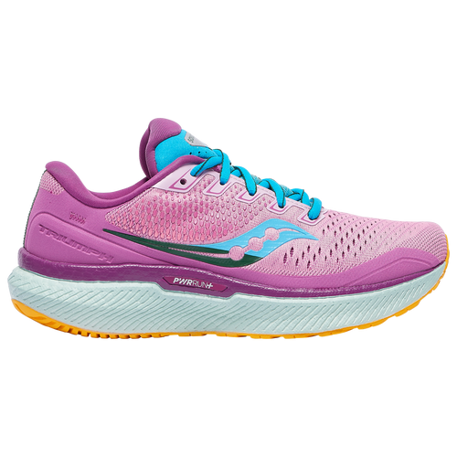 Saucony Triumph 18 - Women's Running Shoes - Future / Pink - S10595-26