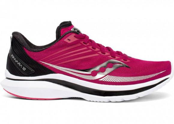 Saucony Kinvara 12 - Women's Running Shoes - Cherry / Storm - S10619-55
