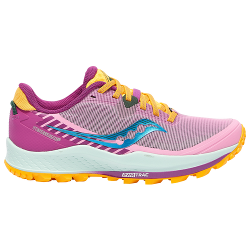 Saucony Peregrine 11 - Women's Running Shoes - Future / Pink - S10641-26
