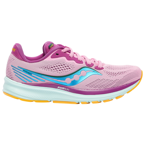 Saucony Ride 14 - Women's Running Shoes - Future / Pink - S10650-26