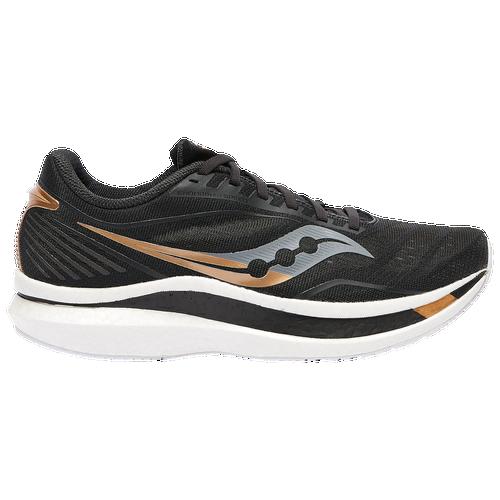 Saucony Endorphin Speed - Men's Running Shoes - Black / Gold - S20597-40