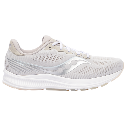 Saucony Ride 14 - Men's Running Shoes - Natural Gray / White - S20650-15
