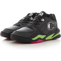 Champion Zone Mid 90'S, New Black/Fluo Lime/Fluo Flame - S21208_KK001