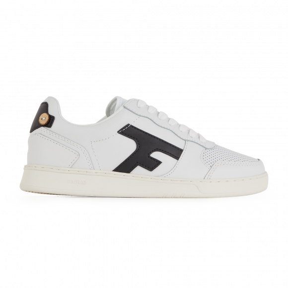 Faguo  HAZEL LEATHER  men's Shoes (Trainers) in White - S21CG0301-WHI35
