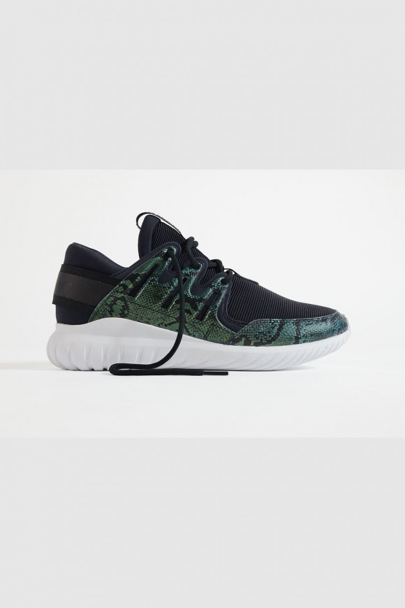 Adidas - Tubular Nova Sneaker mit Reptile-Print in Schwarz - S32007