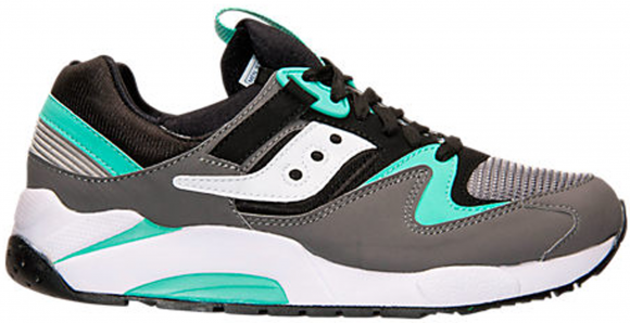 Saucony Grid 9000 Grey Mint - S70077-34