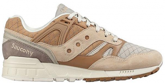 Saucony Grid SD Quilted Tan - S70308-2