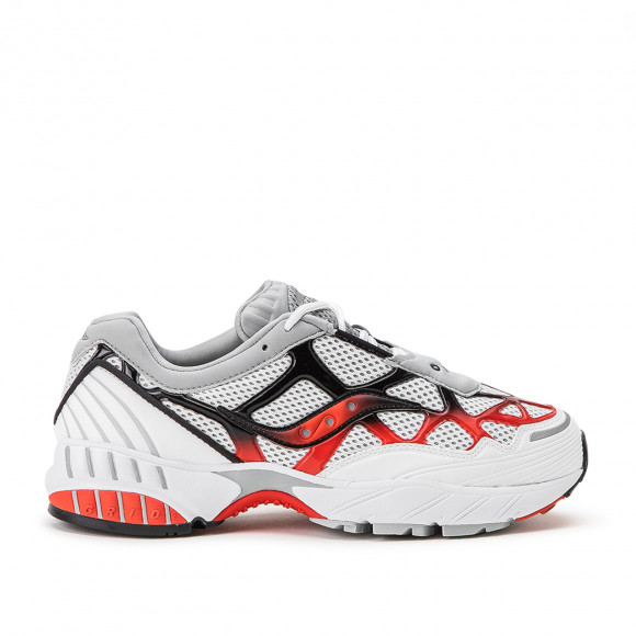 Saucony Grid Web White Grey Red - S70466-2