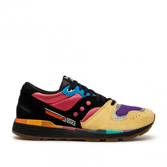Azura (schwarz / gelb / rot) Sneaker - S70509-1