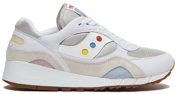 Saucony Shadow 6000 White Multi-Color (Billy's) - S70535-1