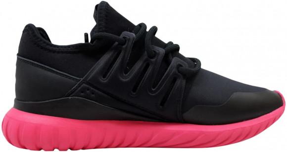 adidas Tubular Radial Black/Black-Pink - S75393
