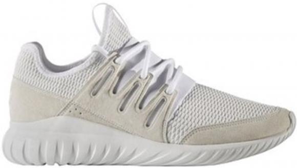 adidas Tubular Radial White Light Grey - S76720