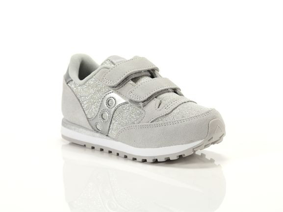 Saucony Jazz Athletic Shoe - Little Kid - Silver - SK164799