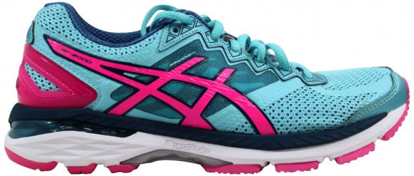 ASICS GT 2000 4 Turquoise/Hot Pink-Autumn Glory (W) - T656N-4034