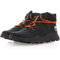 Timberland X Christopner Raeburn Brooklyn Fabric Mid Boot, Jet Black - TB0A283A0151