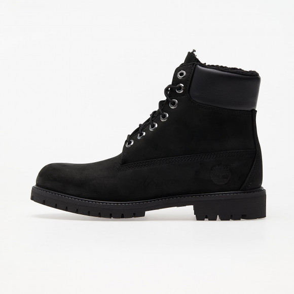 Timberland 6 In Premium Fur Lined Black - TB0A2E2P0011