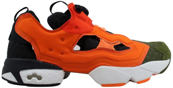 Reebok Instapump Fury ASYM Canopy Green/Peach-Red - V67791