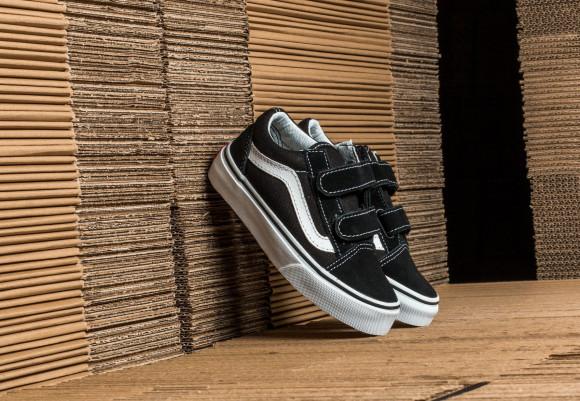 VANS Chaussures Junior Old Skool (4-8 Ans) (black-true White ...