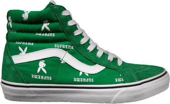 Vans Sk8-Hi Supreme x Playboy Green - VN-0TVMD7N