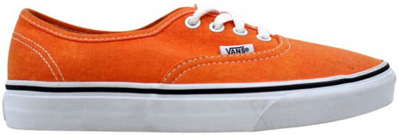 Vans Authentic Washed Vibrant Orange - VN-0vOEC9D