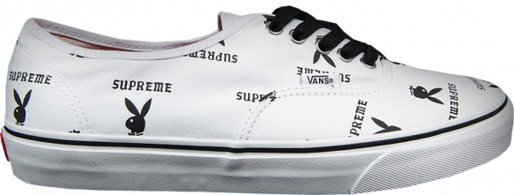 Vans Authentic Supreme x Playboy White - VN-OQODD70