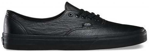 Vans Authentic Decon Premium Leather Black - VN00018CGKM