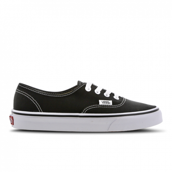 Vans Mens Vans Authentic - Mens Skate Shoes Black/White Size 08.5 - VN000EE3BLK1