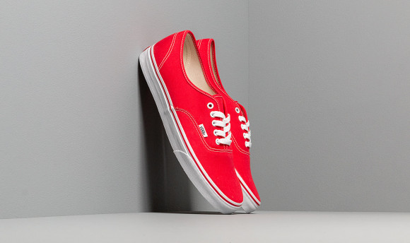 Vans Authentic Skate Shoes Red- Mens- Size 6 M - VN000EE3RED1