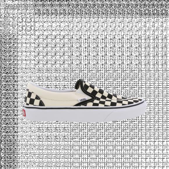 Vans Boys Vans Classic Slip-On - Boys' Grade School Shoes Black/White Size 07.0 - VN000EYEBWW1