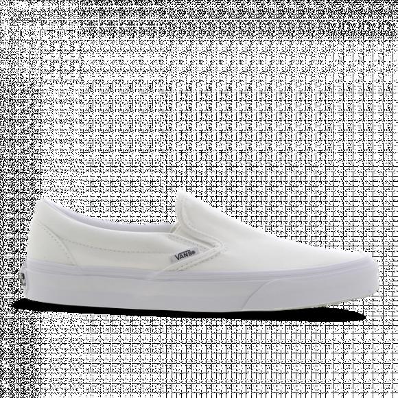 Vans Boys Vans Slip On - Boys' Grade School Shoes White/White Size 04.0 - VN000EYEW001