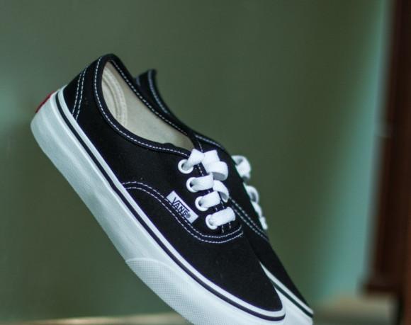 Vans Authentic Skate Shoe - Little Kid - Black - VN000WWX6BT